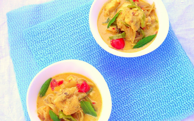 coconut fish curry pressure cooker recipe