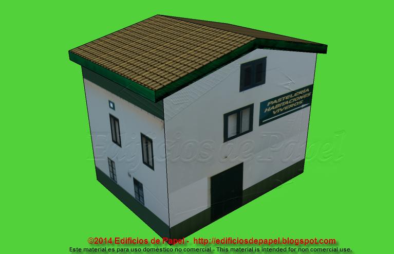 Cozy paper model of a B&F