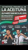 Festival Provincial de la Aceituna. Olivares de San Nicolás 2019