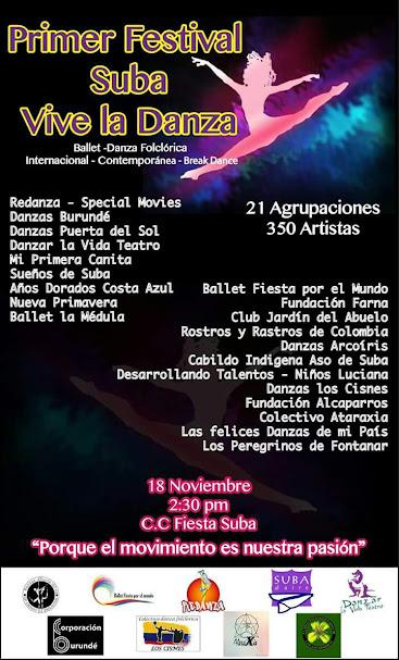 Primer Festival Suba Vive la Danza.