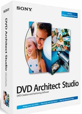 Download Sony DVD Architect Studio 5.0