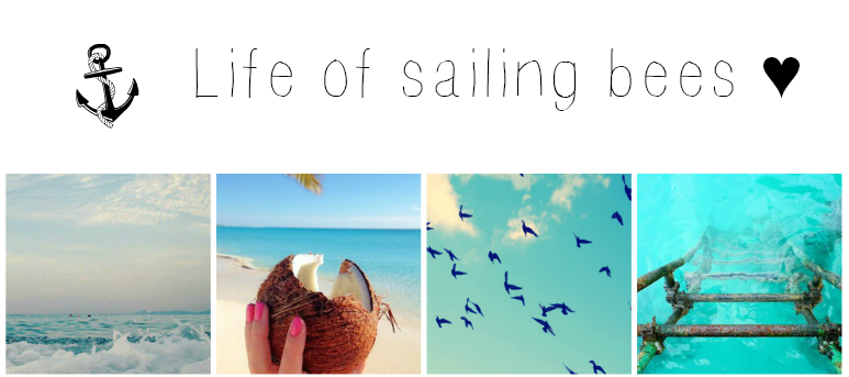 Life of sailing bees ♥
