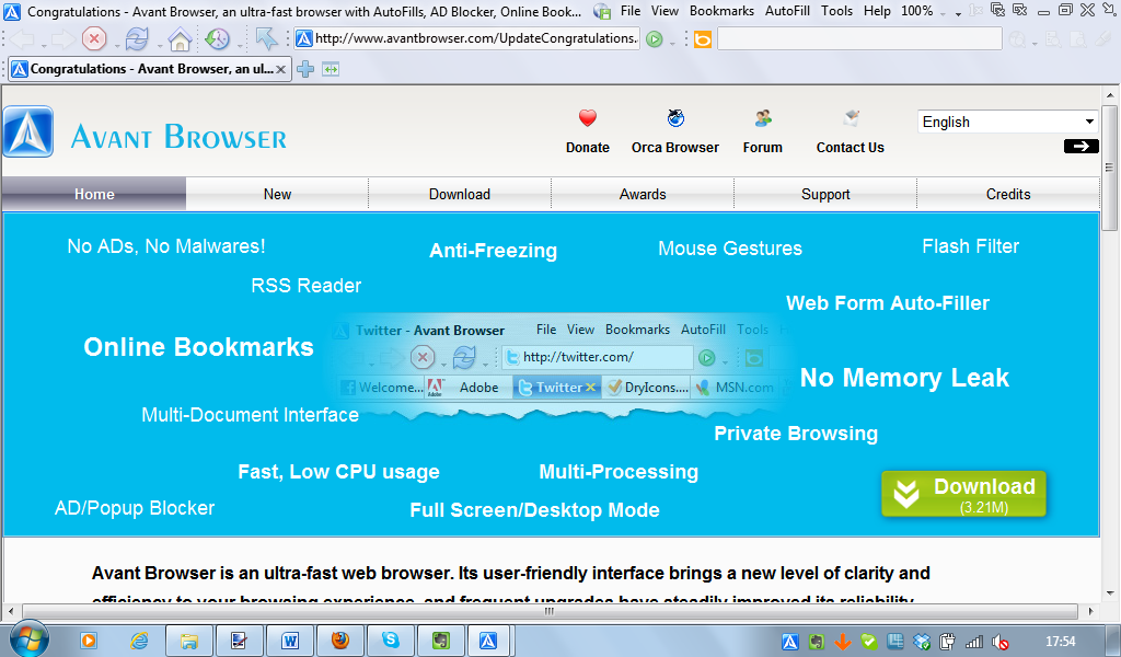 Avant Browser 2015 Ultimate