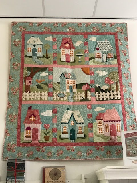Een prachtige quilt van ontwerpster Jennifer Boswerth