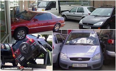 Jornal inglês elege os piores motoristas que fizeram balizas desastrosas