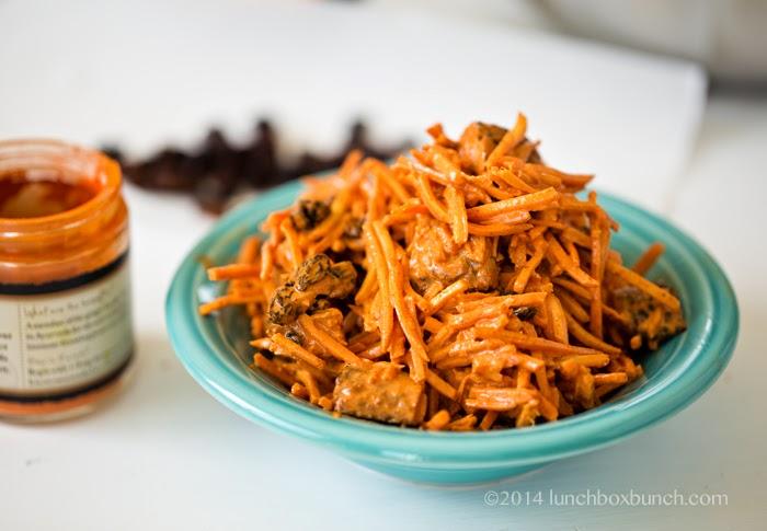 shredded carrot slaw
