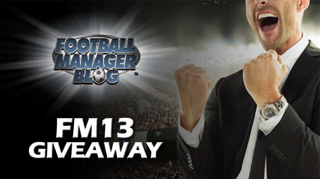 Football Manager 2013 Giveaway