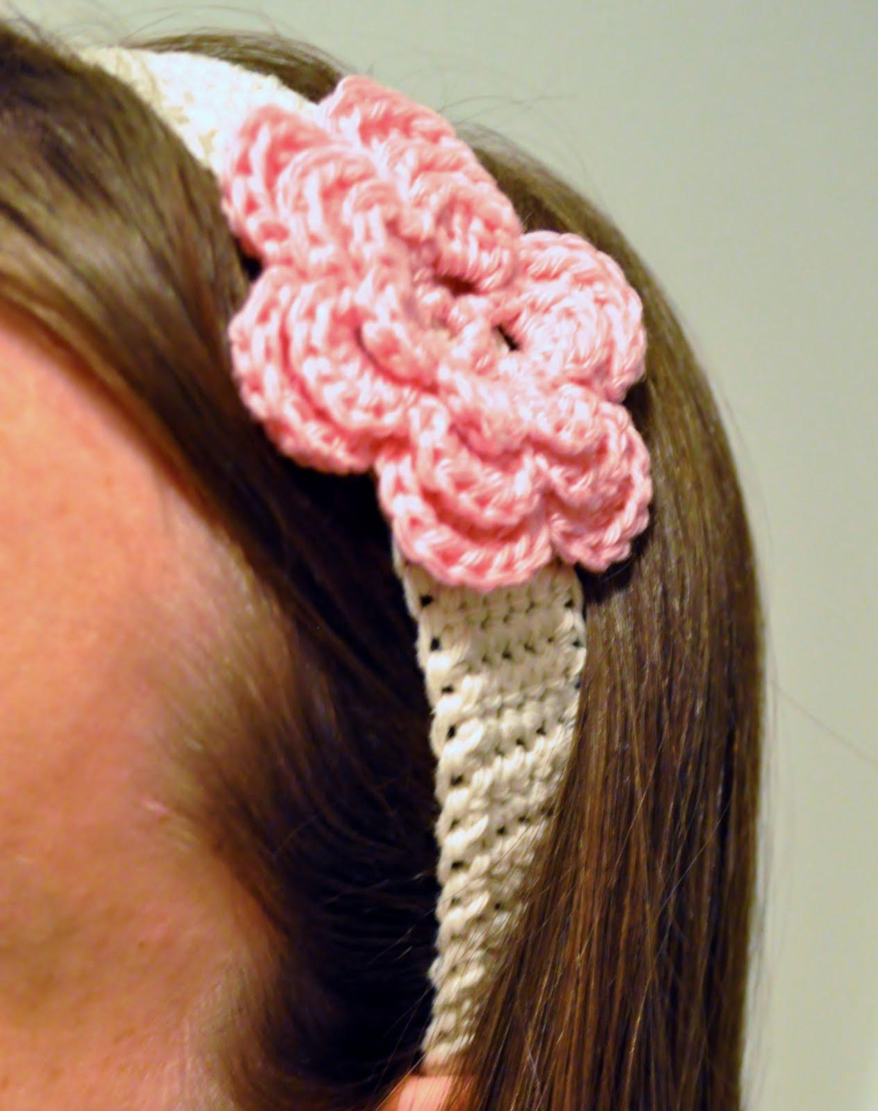 Hekleoppskrift hårbånd