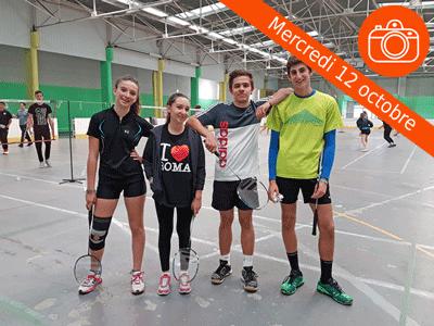 Championnat Badminton J2