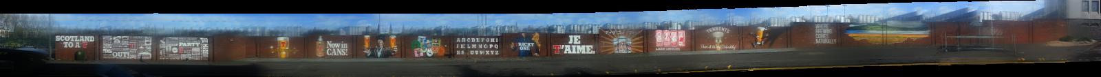 Wellpark Mural, Glasgow, Duke St