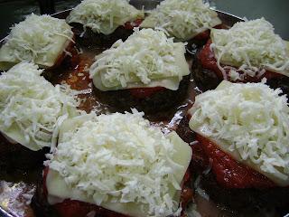 receita hamburguer forno assado parmegiana caseiro