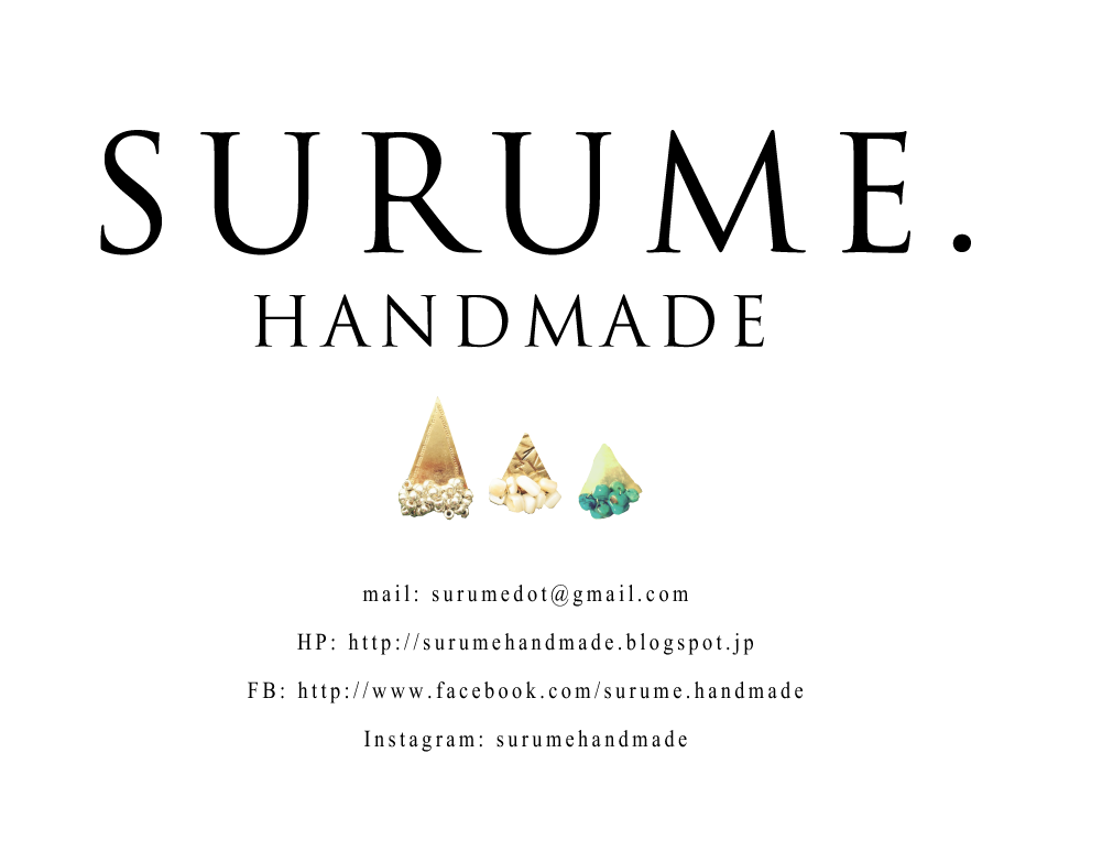 SURUME.   handmade accessories