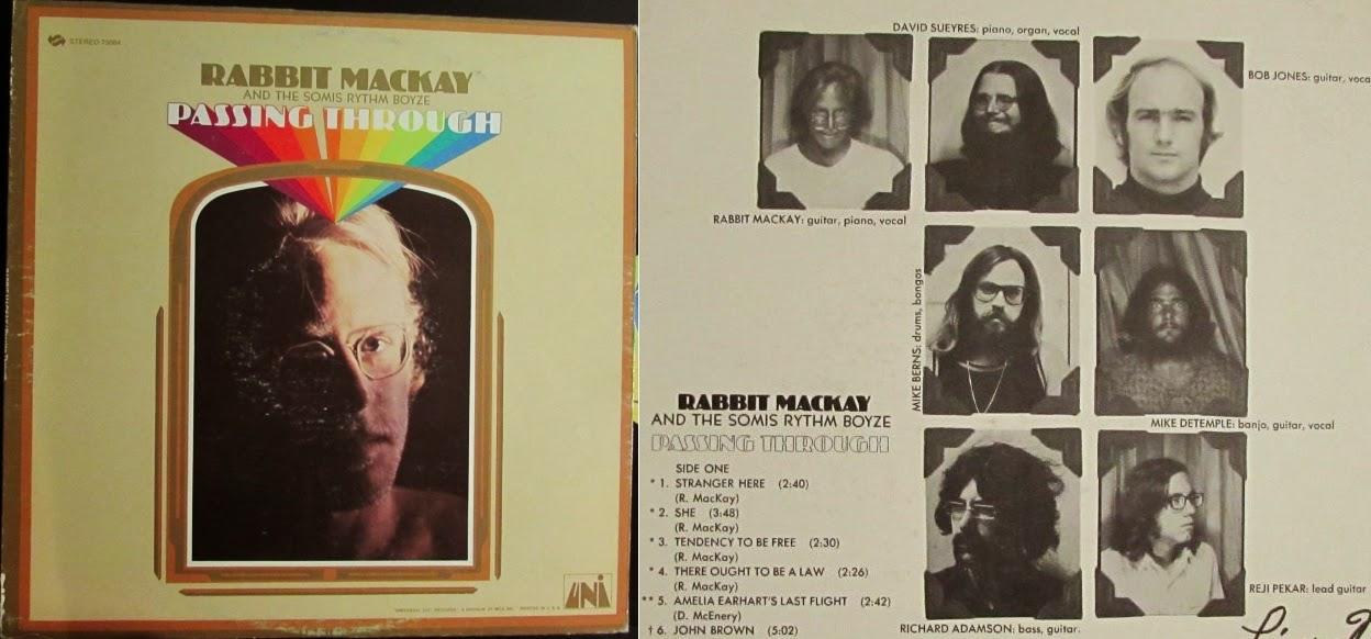 Rabbit Mackay & The Somis Rhythm Band - Passing Through LP