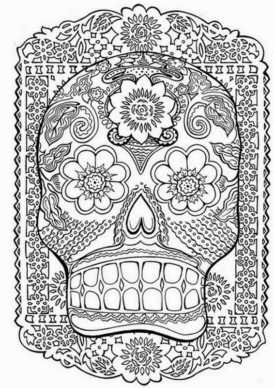 dessin tatouage a colorier - Tatoo Coloriages difficiles pour adultes