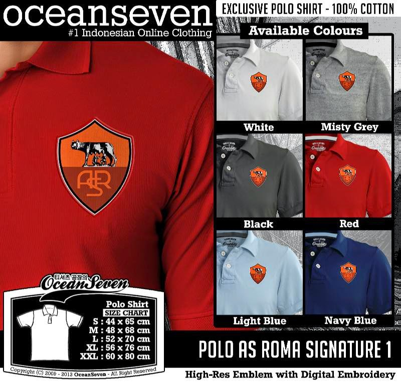 Kaos Polo AS Roma Signature 1