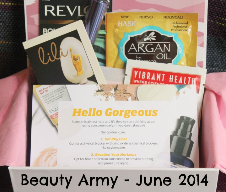 Beauty Army - June 2014
