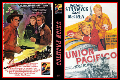 Cover, dvd, carátula: Union Pacifico | 1948 | Union Pacific
