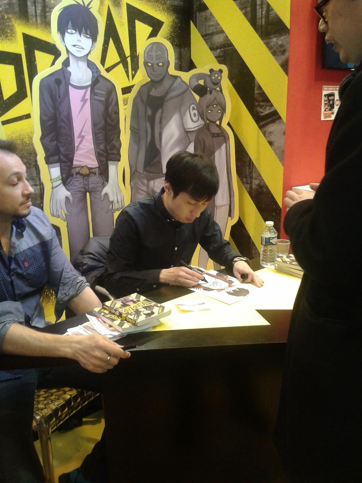 Club manga du coll ge valmy paris auteurs en d dicaces for Salon du manga paris juillet