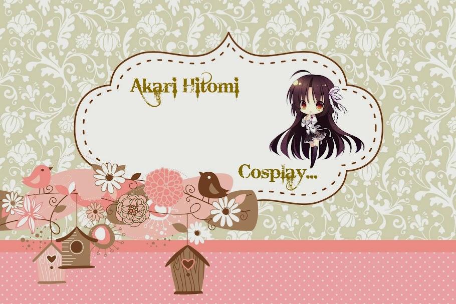 Akari Hitomi Cosplay