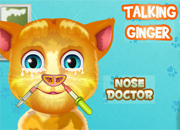 Talking Ginger Nose Doctor