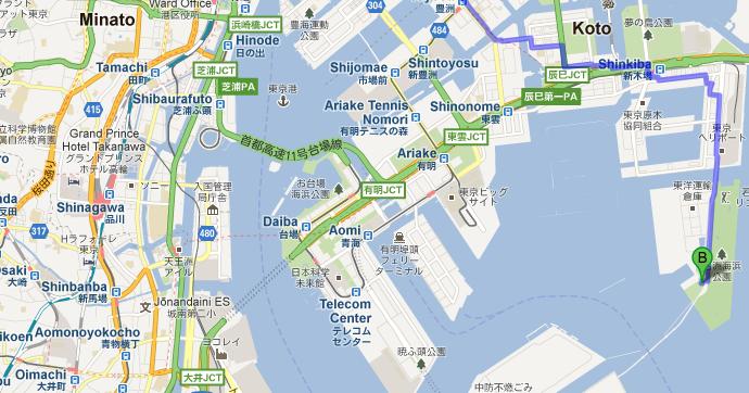 jimmy in japan Tokyo Gate Bridge