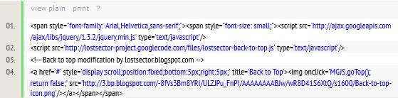 Cara Membuat Kotak Script / Css pada Postingan Blog