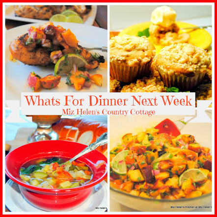 Whats For Dinner Next Week * Week Of 6-25-17