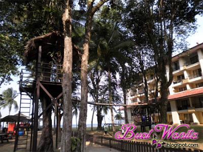 Aktiviti Menarik dan Best Yang Boleh Dilakukan Di The Legend Resort Cherating Pahang Malaysia. Meniti Jambatan Gantung