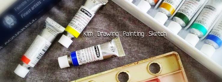 Kim . Drawing . Painting . Sketch