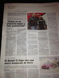 entrevista a efren vazquez en la provincia