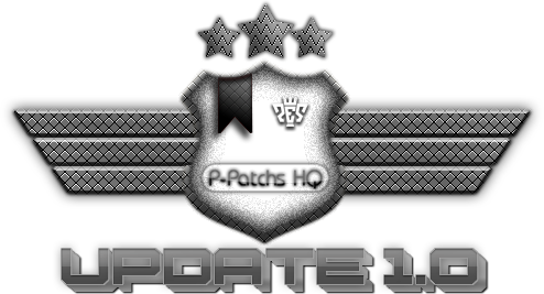 Update1.0P Patchs PES 2012: Patch P Patchs HQ 3.0 Update 1.0