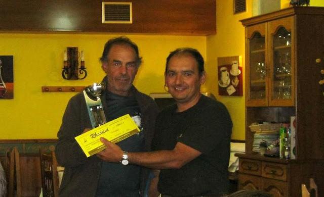 Entrega premios pesca Open Burgos