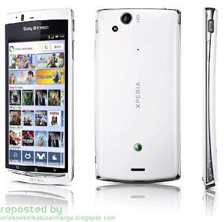 Spesifikasi Sony Ericsson Xperia Arc S Hp Terbaru 2012