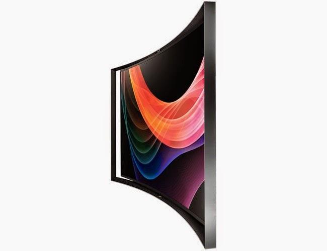 Elegant style samsung curved tv