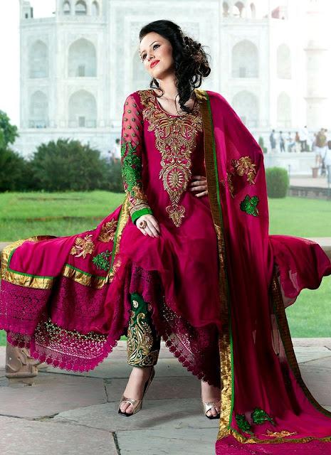 Beautiful Anarkali Dresses 2013