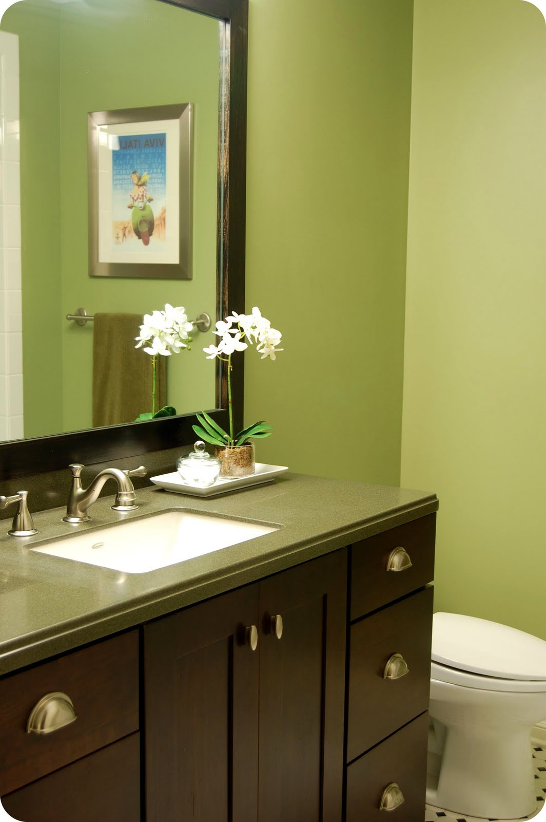 33 Shades Of Green Home Tour Downstairs Bathroom