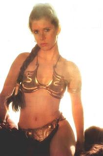 princess leia, star wars, bikini, sexy, carrie fischer