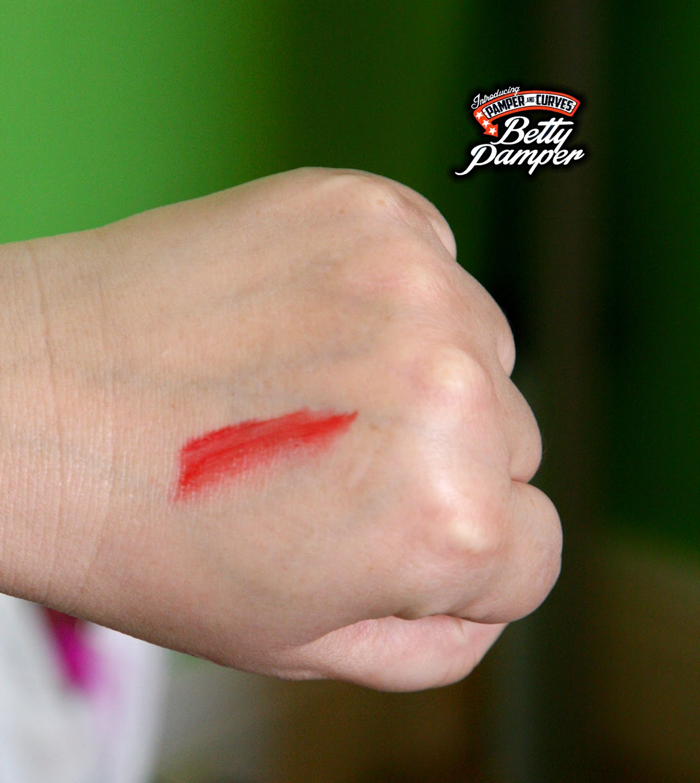 vegan red lipstick