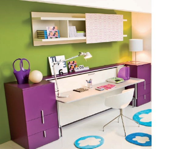 Decoracion dormitorios juveniles pequeños/habitaciones ...