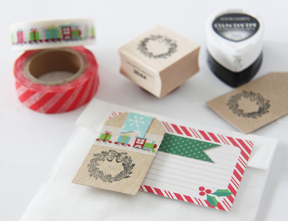 Little hannah c mo decorar un sobre de papel para navidad - Como decorar un sobre ...