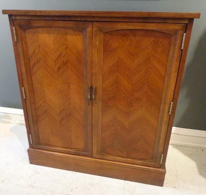 Michael Thomas Lane Furniture Co Bar Cabinet