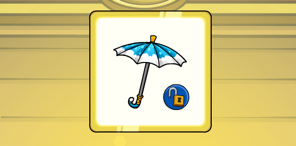 New Club Penguin Codes Cloudy Umbrella