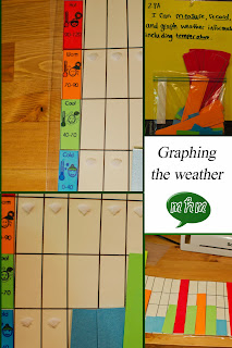 graphing the weather collage