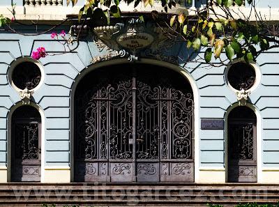 Detalhe do prédio da antiga Secretaria da Viação, na Praça da Liberdade, em Belo Horizonte - Minas Gerais - Por Tito Garcez