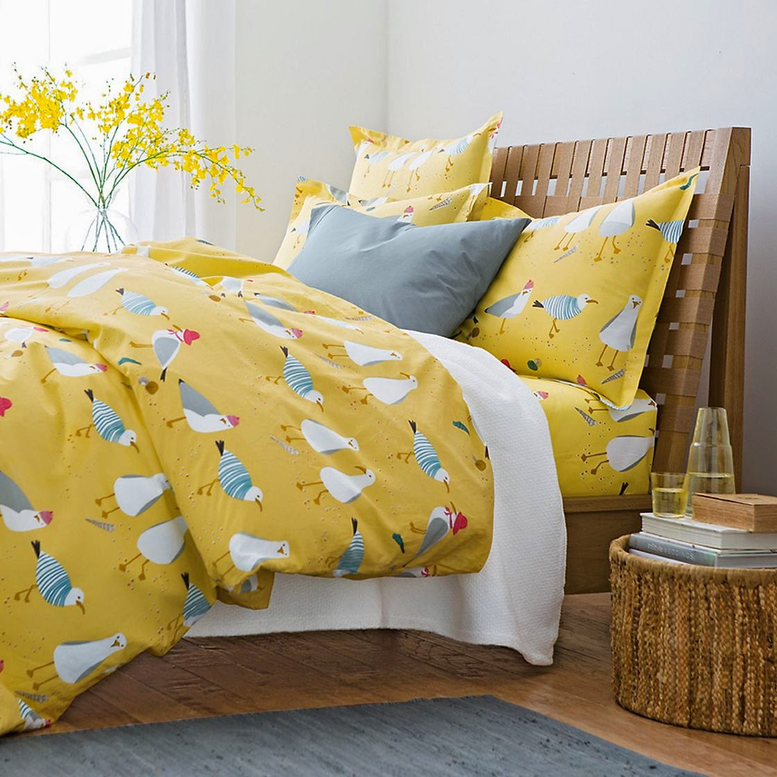 The Company Store nautical bedding Spring 2014