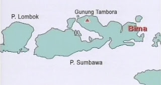 Gunung Tambora Pulau Sumbawa