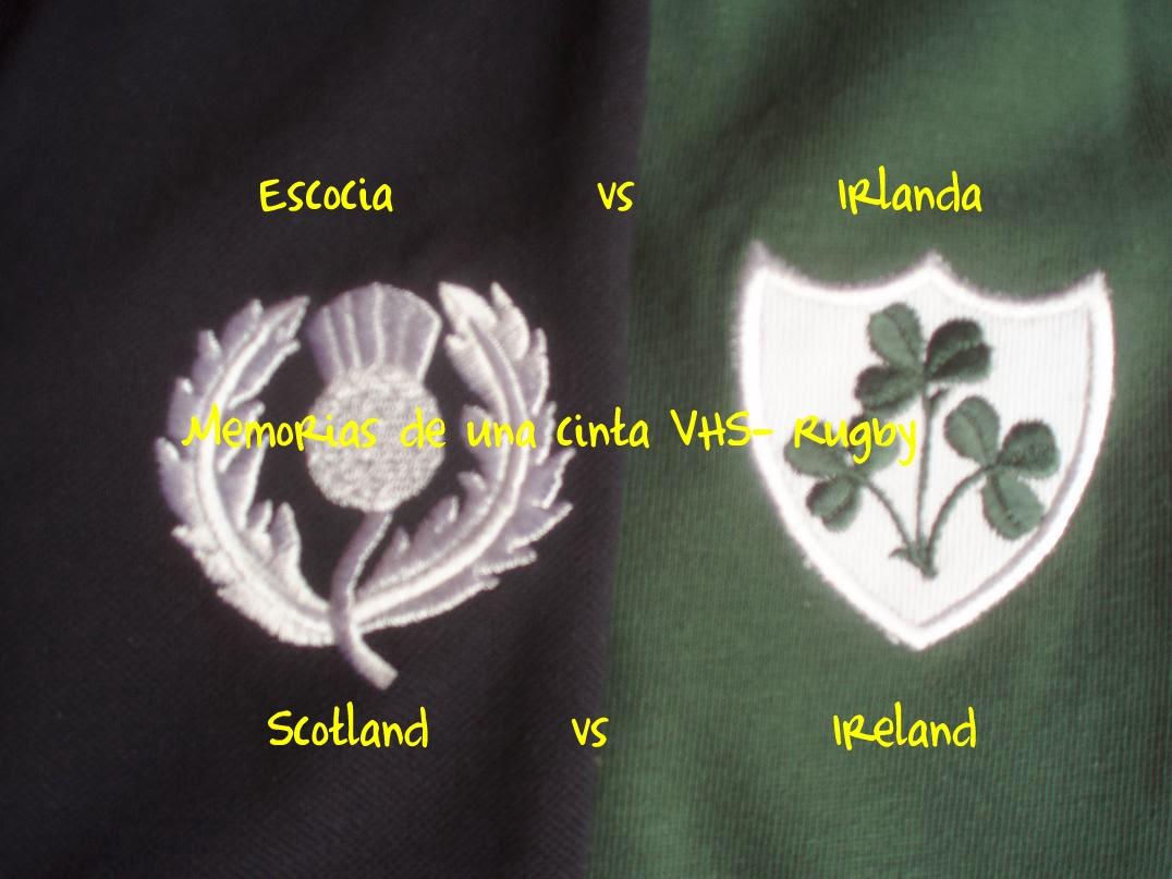 Escocia contra Irlanda, rugby