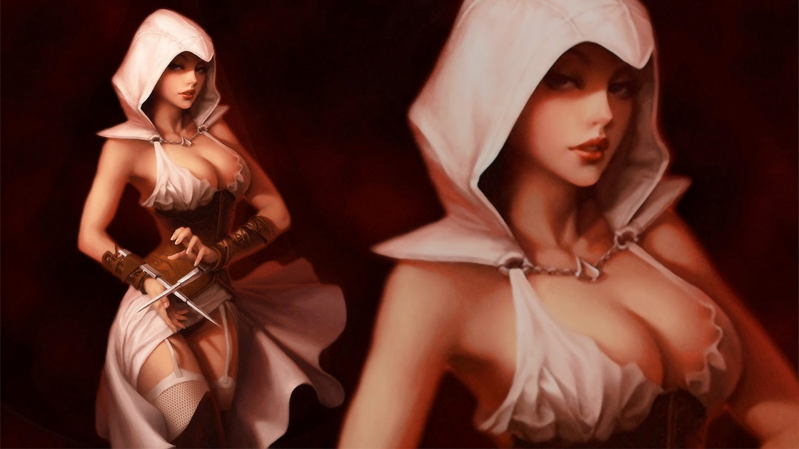 Assassin's creed naked girl hentia images