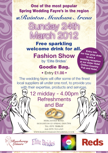 Spring wedding fair North East