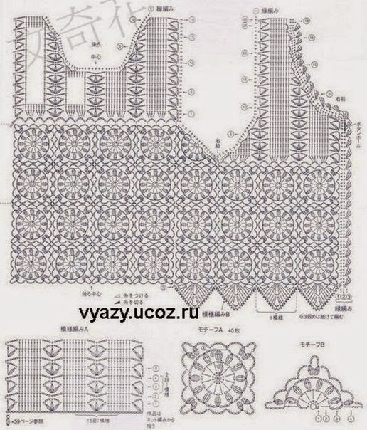Free Crochet Charts and Explanation for Vintage Timeless ...